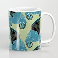 cars Mugs featuring Cars by Cliodhna Ztoical