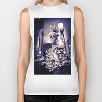 cupcake Biker Tanks featuring Cupcake by Aaron Fritts