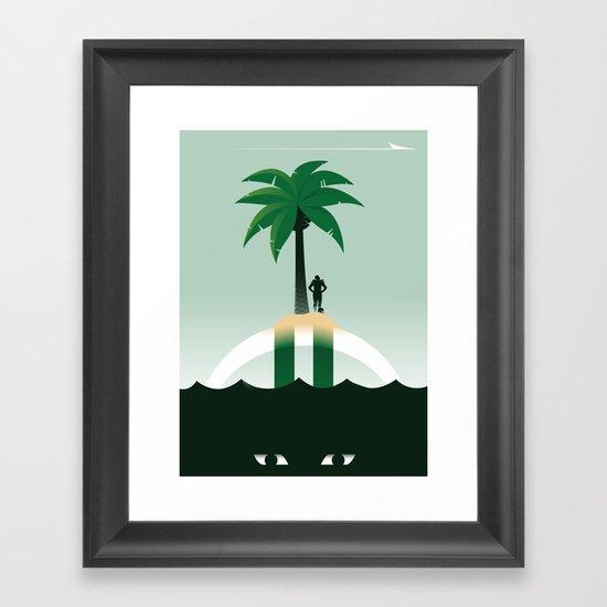 Revis Island Framed Art Print