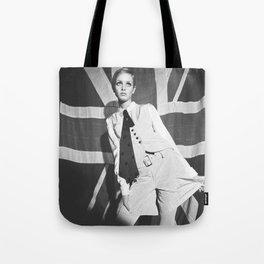 Old British Top Model Tote Bag