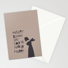 Mister Bunny Hat Stationery Cards