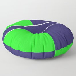 Team Colors...... 6 Lime green /navy Floor Pillow