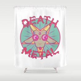 HEAVY METAL PARODY Shower Curtain