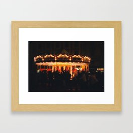 florence by night Framed Art Print
