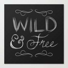 Wild & Free Canvas Print