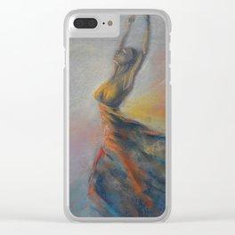 Dancing woman. Ballerina. Dancer Clear iPhone Case