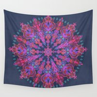 bohemian Wall Tapestries featuring Bohemian by micklyn