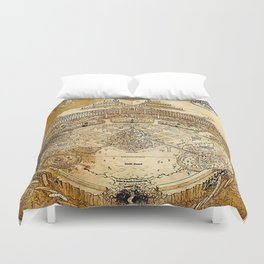 Land of Meaning Duvet Cover