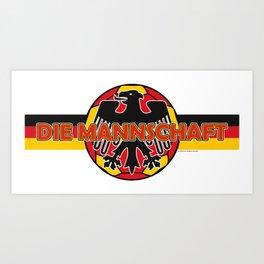 Germany Die Mannschaft (The Team) ~Group F~ Art Print
