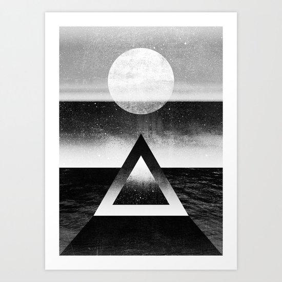 Exploring New Dimensions / BW Art Print