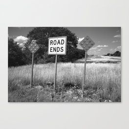 Route 66 - End of the Road 2012 Canvas Print