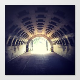 Tunnel's end Canvas Print