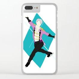 YOI VICTOR yuri on ice Clear iPhone Case