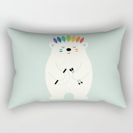 Be Brave Polar Rectangular Pillow