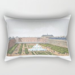 Paris art print Paris Decor office decoration vintage decor PALAIS ROYAL of Paris Rectangular Pillow