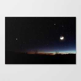 Road trip to Big Bend Canvas Print