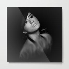 Ally Brooke Hernandez 'Reflection' Digital Painting Metal Print
