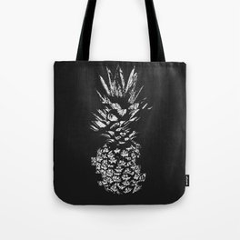 Pineapple with Glitch Tote Bag