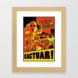 Cactuar Framed Art Print