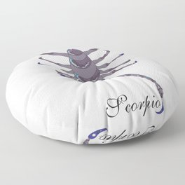 Starlight Scorpio Floor Pillow