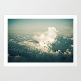 Clouds #03 Art Print
