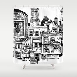 New Town New Shower Curtain
