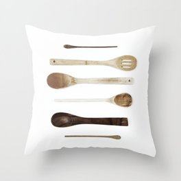 SPOON COLLECTION N1 Throw Pillow