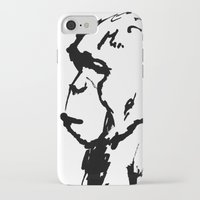 ape iPhone & iPod Cases featuring Ape by Kathryn Burton