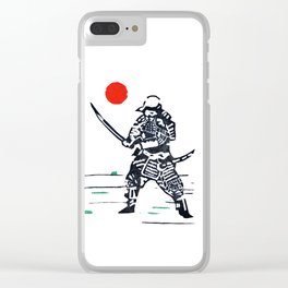 Samurai Clear iPhone Case