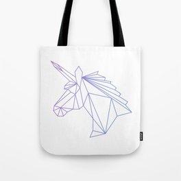 Unicorn Blue-Purple Tote Bag