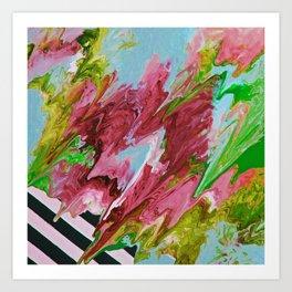 I Like Your Flair 4 Art Print