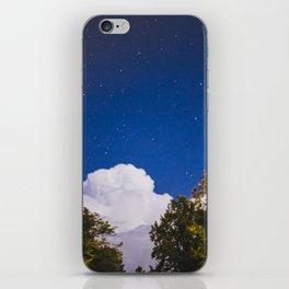 Sweet Dreams - Big White Cloud - Night Sky Stars Night Photography iPhone Skin