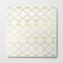 Art DECO - Mix & Match with Simplicity of Life Metal Print