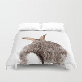 Bunny back side Duvet Cover