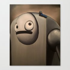 Larry the Robot Canvas Print