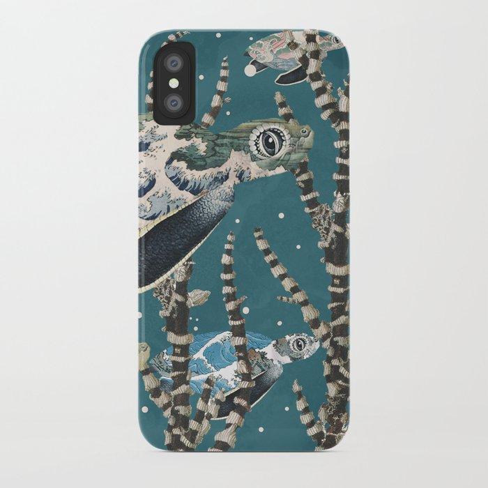Turtle Migration iPhone Case