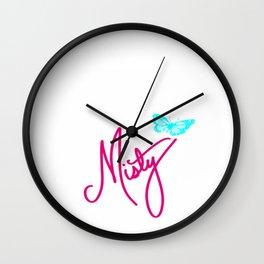 Misty Wall Clock