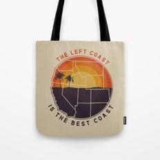 Left Coast is the Best Coast Tote Bag
