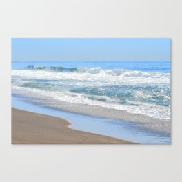 Baby Blue Ocean Canvas Print