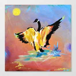 Loosey Goosey Canvas Print