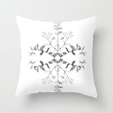 Flowers of Autumn Throw Pillow
