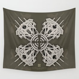 Calaabachti Arch Rosetta [synthetic version] Wall Tapestry