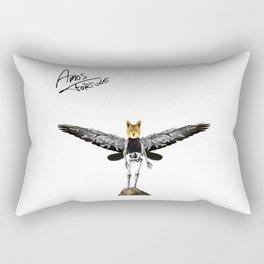Amos Fortune Resolution Creature Rectangular Pillow