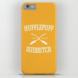 Hogwarts Quidditch Team: Hufflepuff iPhone Case