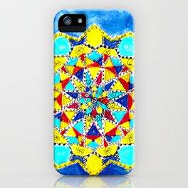 Geometric artform iPhone Case