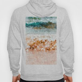 On the beach abstract painting 2 Hoody