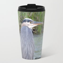 Blue Heron at Hillsboro Pond Travel Mug
