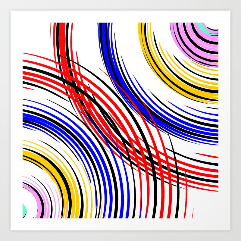 Mandala - Sex (modern Art) Art Print by Twinklemehta PRN8834937