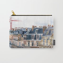Roofs of Paris Carry-All Pouch
