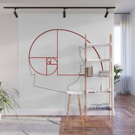 Fibonacci Sequence Golden Ratio Spiral Gift Wall Mural